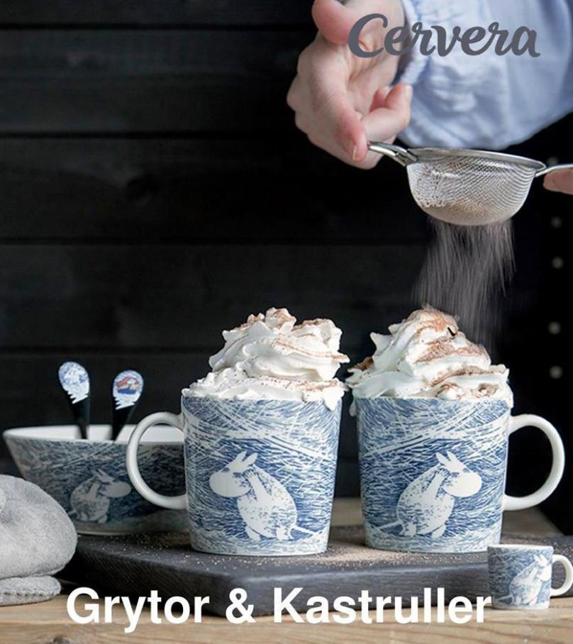 Cervera Erbjudande Grytor & Kastruller . Cervera (2020-10-31-2020-10-31)