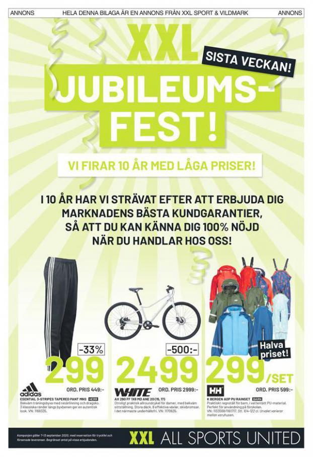 XXL Erbjudande Jubileums Fest! . XXL (2020-09-13-2020-09-13)