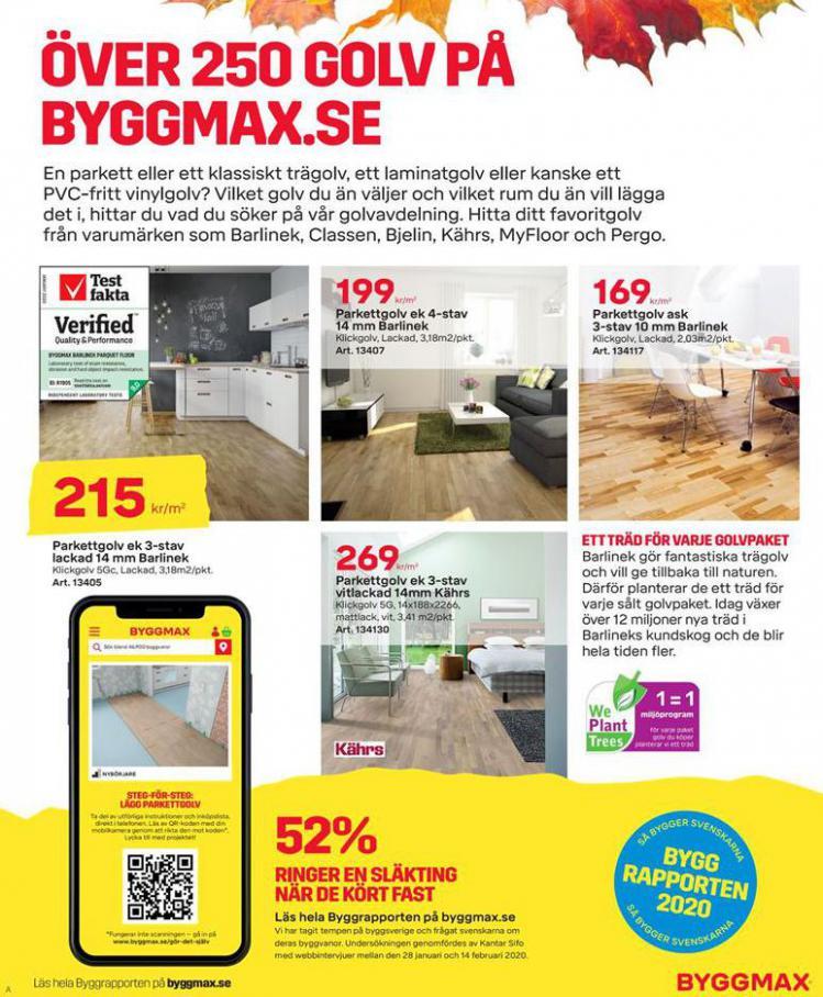 Byggmax Erbjudande Maxa Höstens Inneprojekt . Page 5