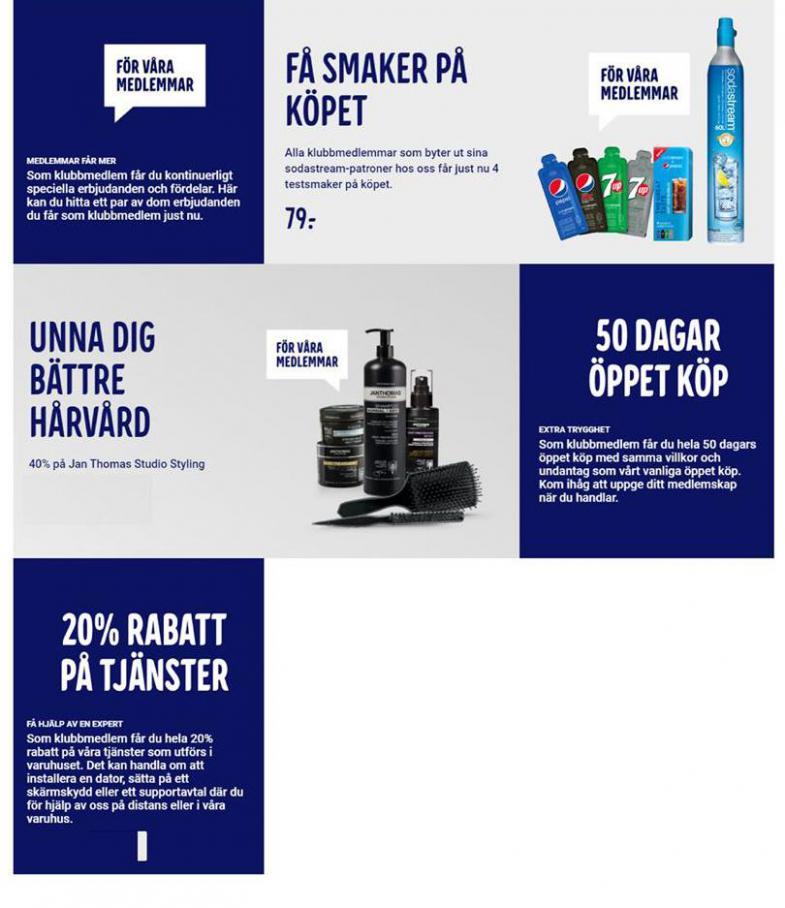 Elgiganten Erbjudande Få mer som medlem! . Page 2