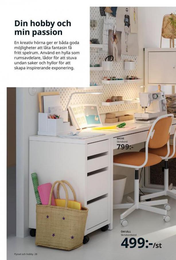 Arbete, studier och hobby 2021 . Page 28