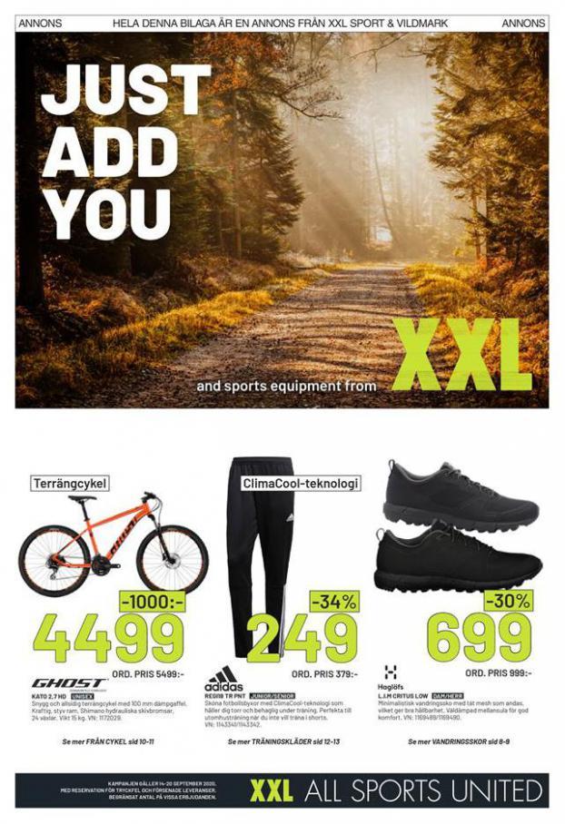 XXL Erbjudande Just Add You . XXL (2020-09-20-2020-09-20)