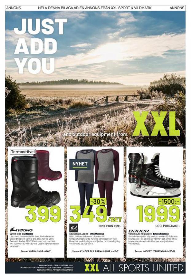 XXL Erbjudande Just Add You . XXL (2020-10-25-2020-10-25)