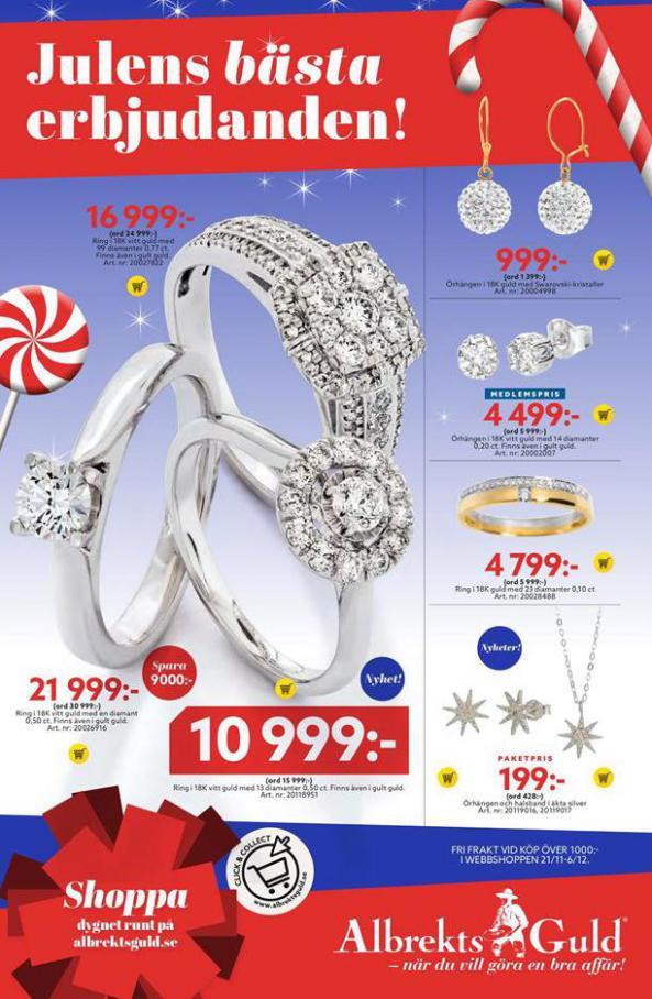 Albrekts Guld Erbjudande Julens bästa erbjudanden! . Albrekts Guld (2020-12-25-2020-12-25)