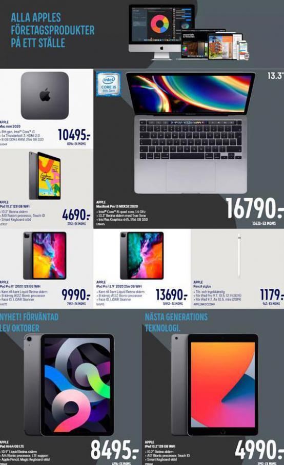 Elgiganten Erbjudande Alla Apples Företagsprodukter på ett ställe . Elgiganten (2020-10-18-2020-10-18)
