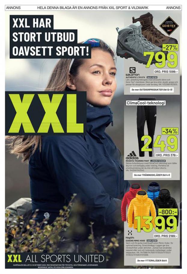 XXL Erbjudande XXL Har Stort Utbud Oavsett Sport! . XXL (2020-10-18-2020-10-18)