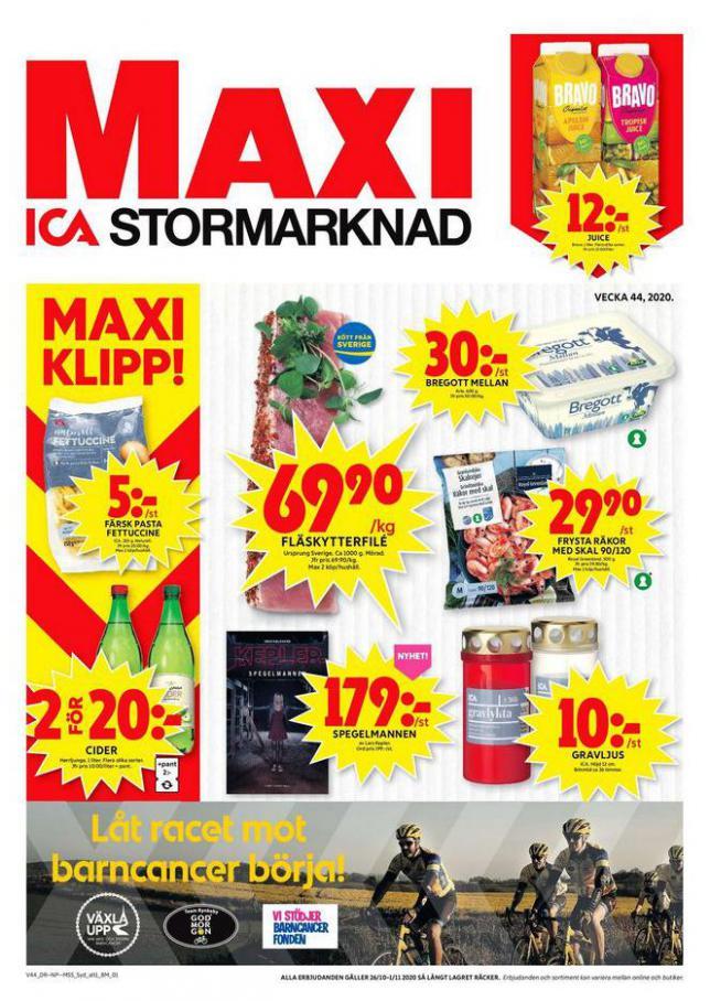 ICA Maxi Erbjudanden . ICA Maxi (2020-11-01-2020-11-01)