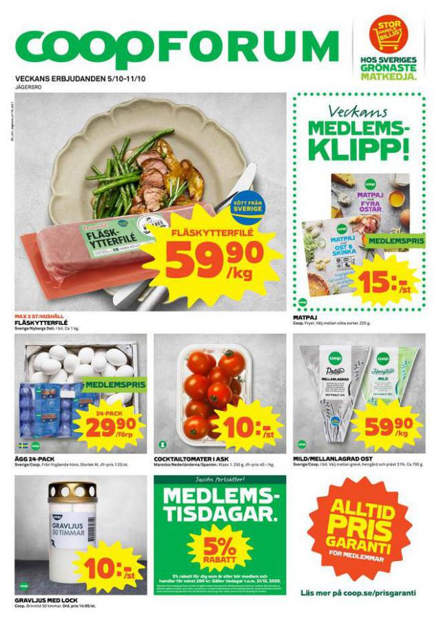 Coop Forum reklamblad . Coop Forum (2020-10-11-2020-10-11)