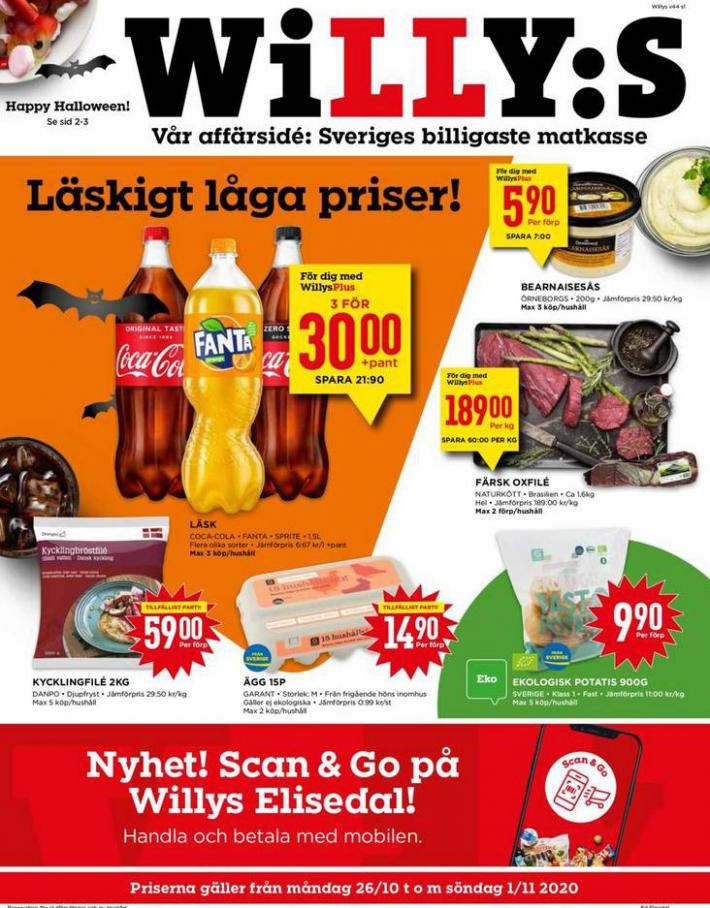 Willys reklamblad . Willys (2020-11-01-2020-11-01)