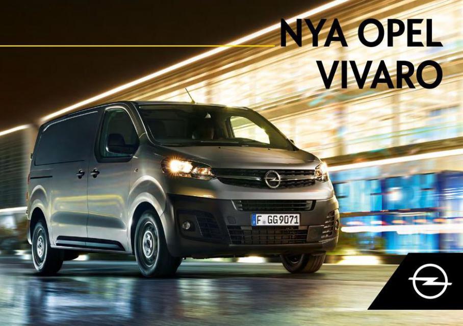 Nya Opel Vivaro . Opel (2021-12-31-2021-12-31)