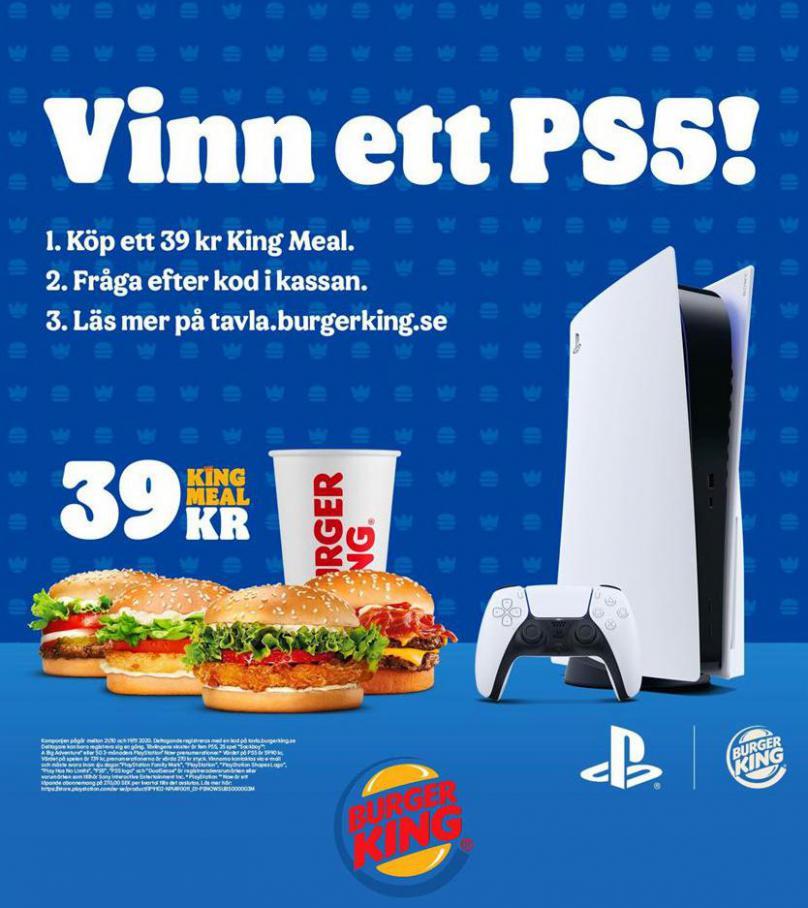 Vinn ett PS5! . Burger King (2020-11-19-2020-11-19)