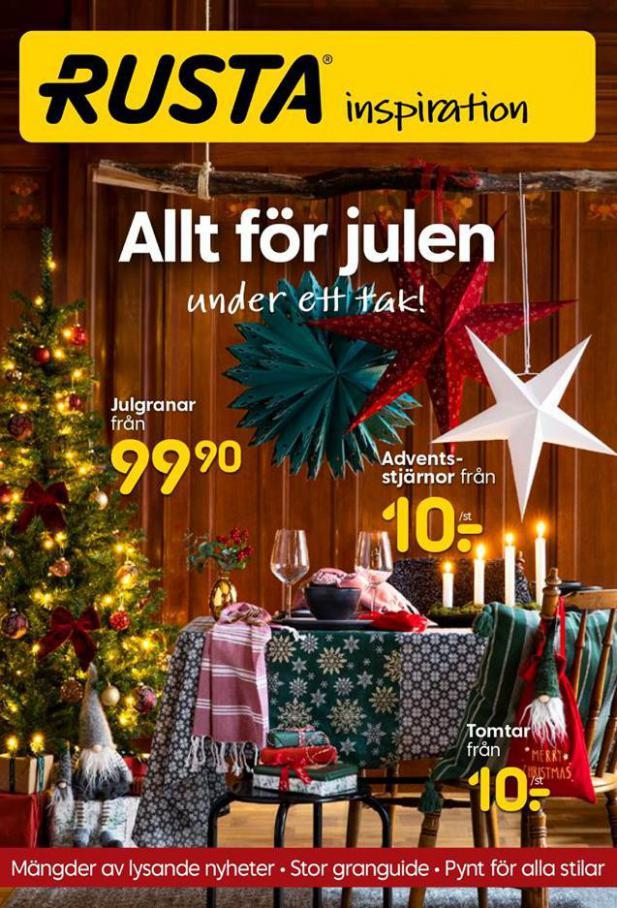 Rusta Erbjudande Allt för Julen . Rusta (2020-11-18-2020-11-18)