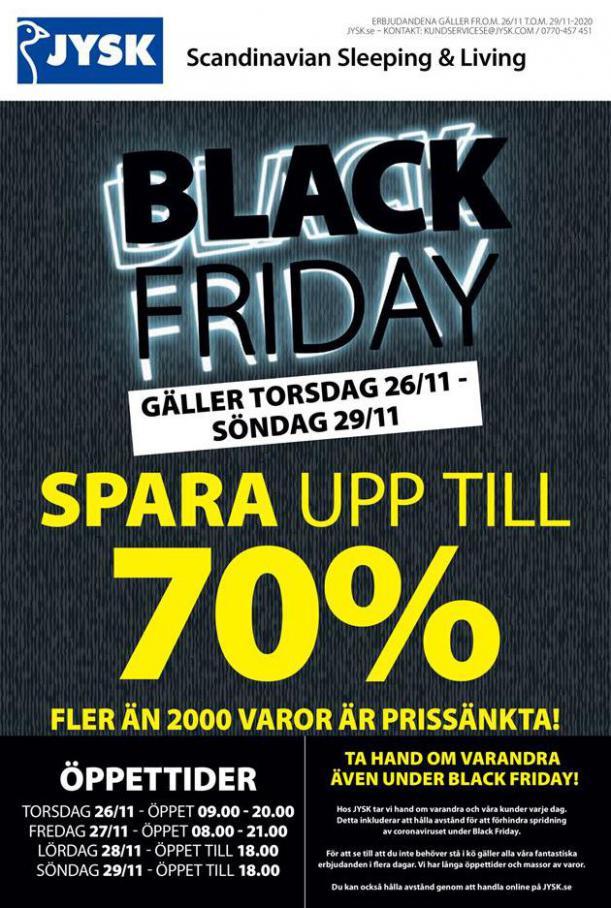 Erbujande JYSK Black Friday . JYSK (2020-11-29-2020-11-29)