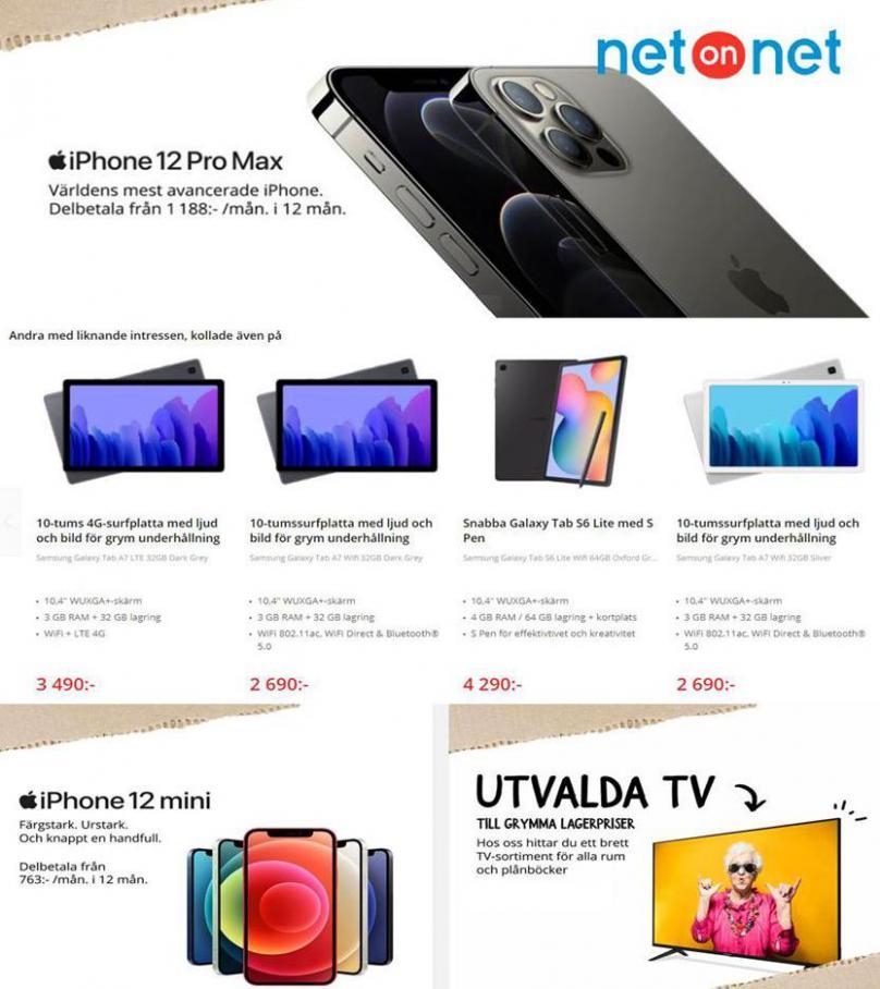 Net On Net Erbjudande Kampanjblad . Net On Net (2020-12-13-2020-12-13)