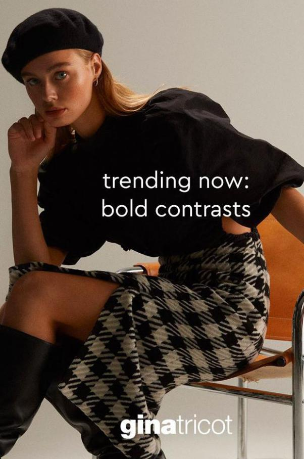 Trending Now - Bold Contrasts . Gina Tricot (2021-01-17-2021-01-17)