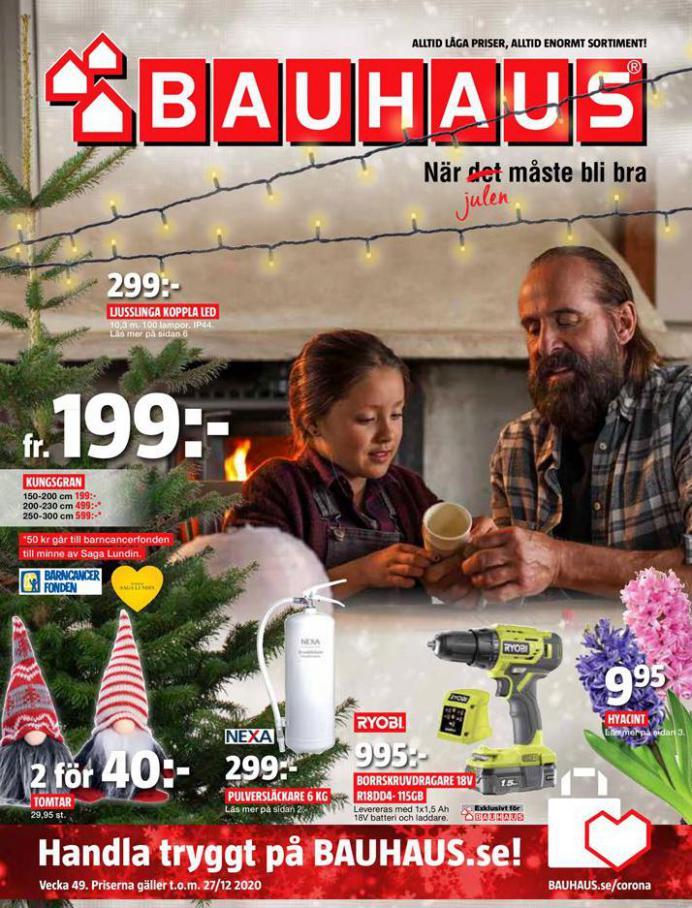 Bauhaus Erbjudande Julen . Bauhaus (2020-12-27-2020-12-27)