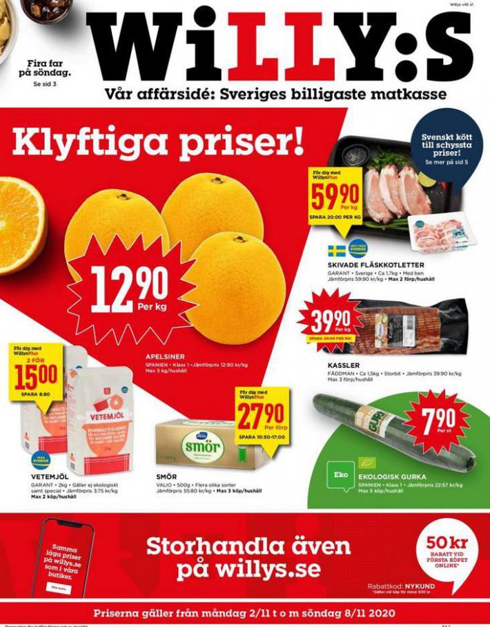 Willys reklamblad . Willys (2020-11-08-2020-11-08)