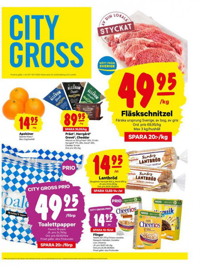 City Gross reklamblad . City Gross (2020-11-15-2020-11-15)