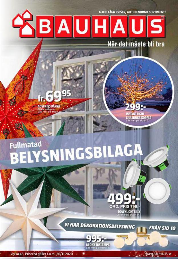 Bauhaus Erbjudande Belysningsbilaga . Bauhaus (2020-11-26-2020-11-26)