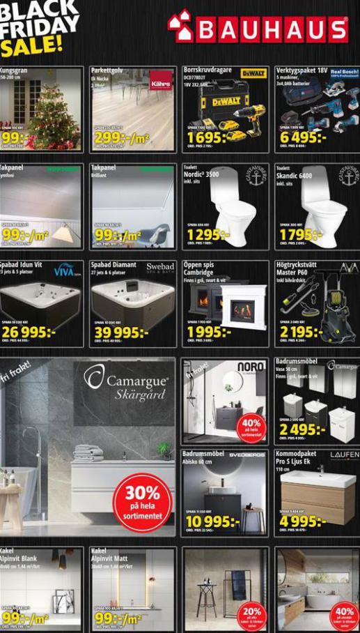 Erbjudande Bauhaus Black Friday . Bauhaus (2020-11-29-2020-11-29)