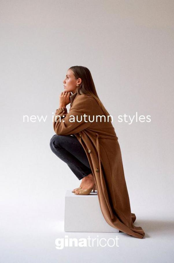 New In - Autumn Styles . Gina Tricot (2021-01-17-2021-01-17)