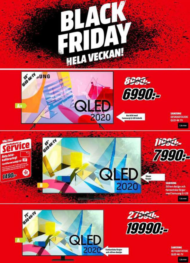 Erbjudande Media Markt Black Friday . Media Markt (2020-11-29-2020-11-29)