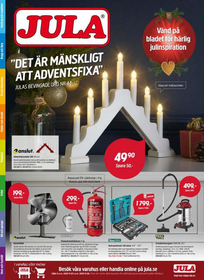 Jula reklamblad . Jula (2020-12-06-2020-12-06)