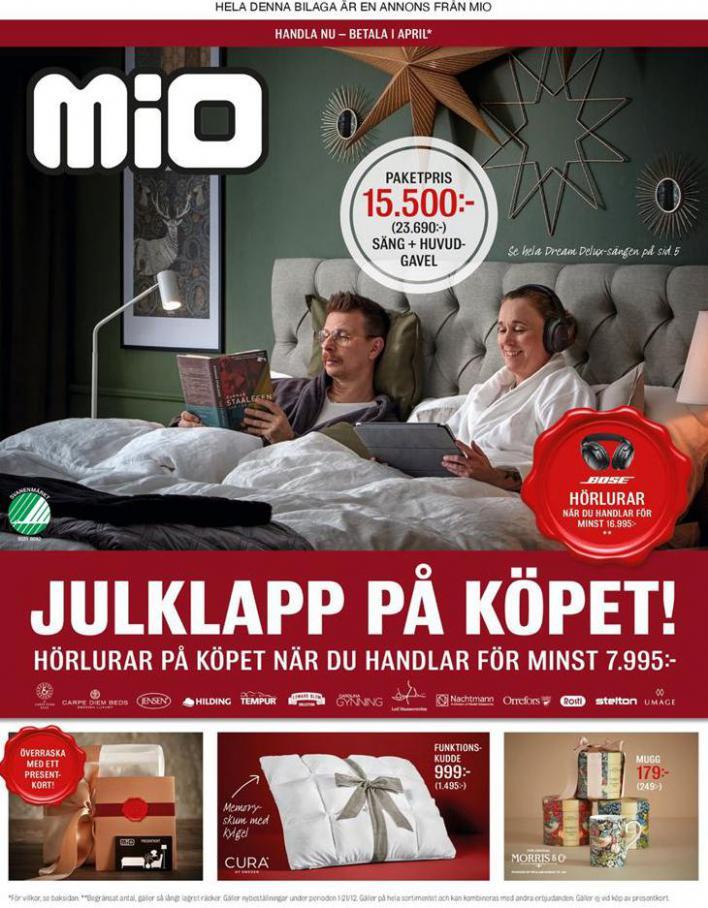 Mio Erbjudande Julklapp på Köpet! . Mio (2020-12-21-2020-12-21)