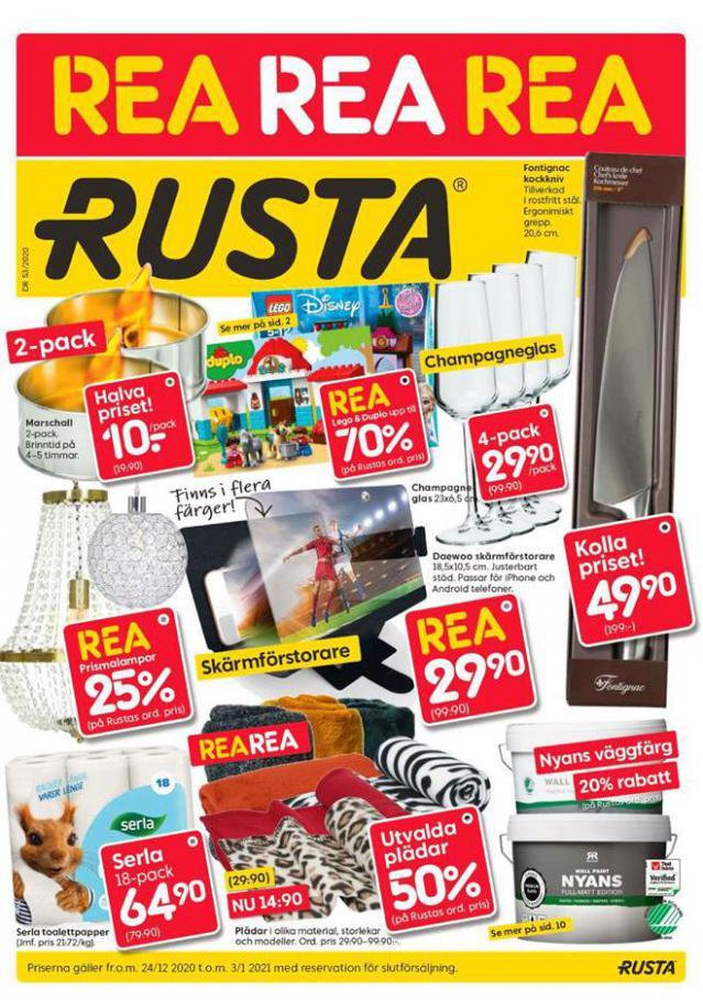 Rusta Erbjudande Rea . Rusta (2021-01-03-2021-01-03)