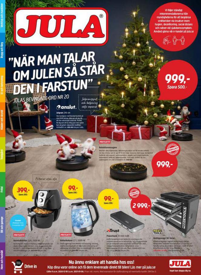 Jula reklamblad . Jula (2021-01-06-2021-01-06)
