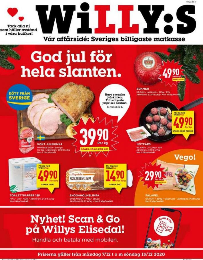 Willys reklamblad . Willys (2020-12-13-2020-12-13)