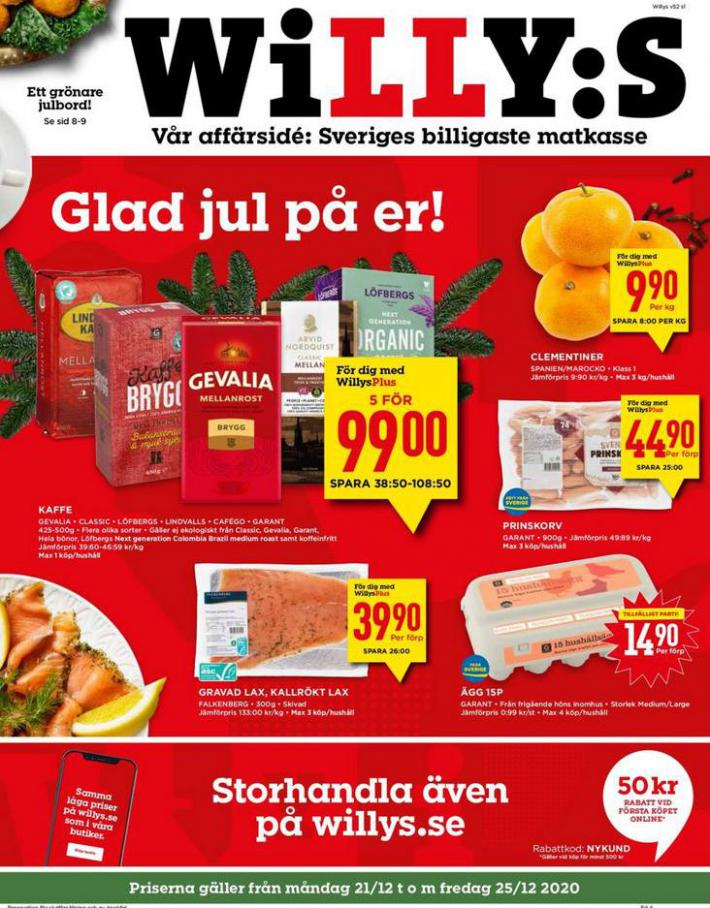 Willys reklamblad . Willys (2020-12-27-2020-12-27)
