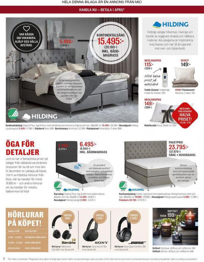 Mio Erbjudande Julklapp på Köpet! . Page 2