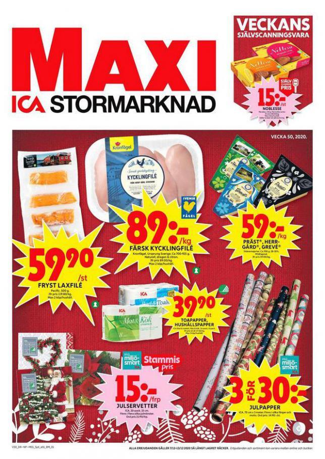 ICA Maxi Erbjudanden . ICA Maxi (2020-12-13-2020-12-13)
