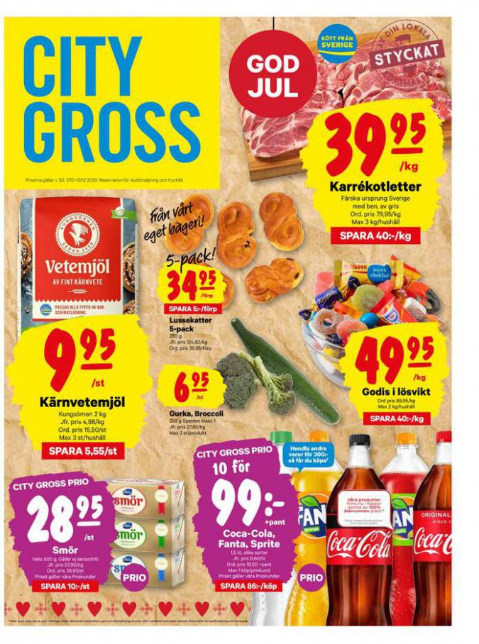 City Gross reklamblad . City Gross (2020-12-13-2020-12-13)