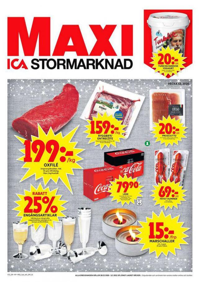 ICA Maxi Erbjudanden . ICA Maxi (2021-01-03-2021-01-03)