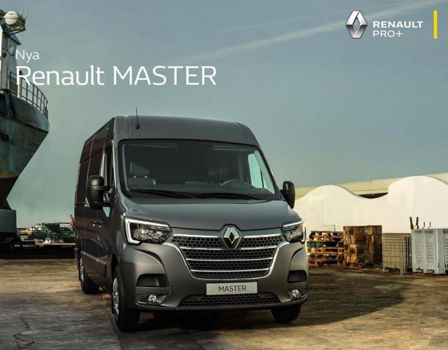 Nya Renault Master . Bilia (2021-12-31-2021-12-31)