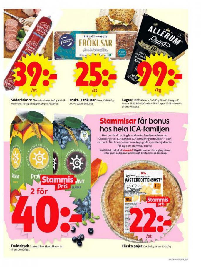 ICA Supermarket Erbjudanden . Page 7