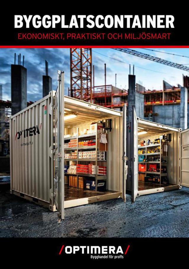Byggplatscontainer . Optimera (2021-02-28-2021-02-28)