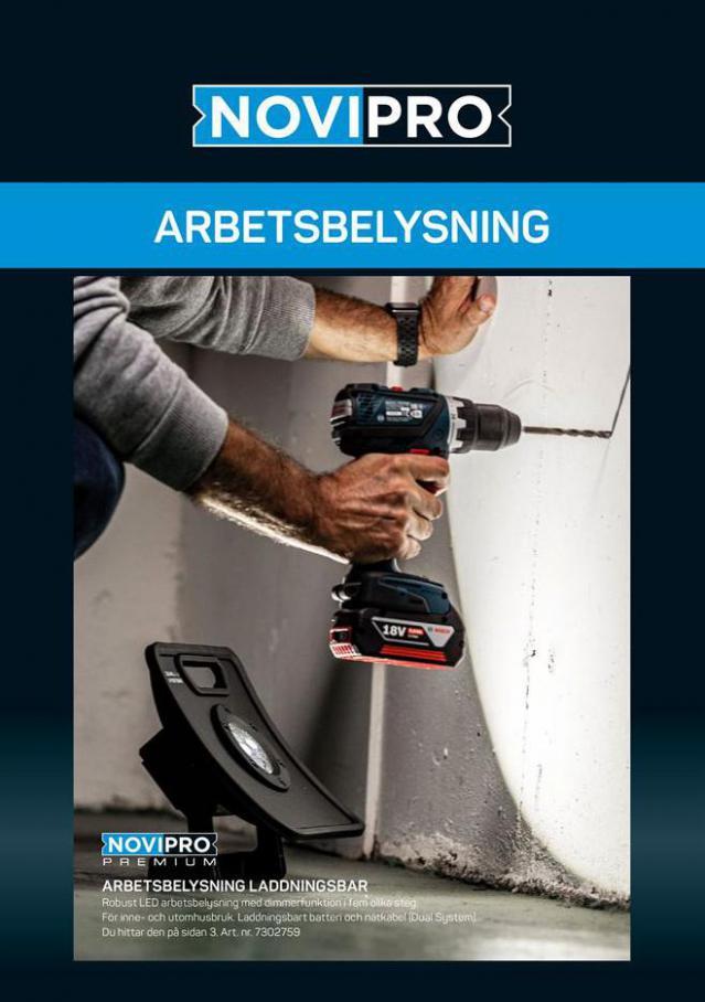 NOVIPRO Sortilog Arbetsbelysning . Optimera (2021-02-28-2021-02-28)