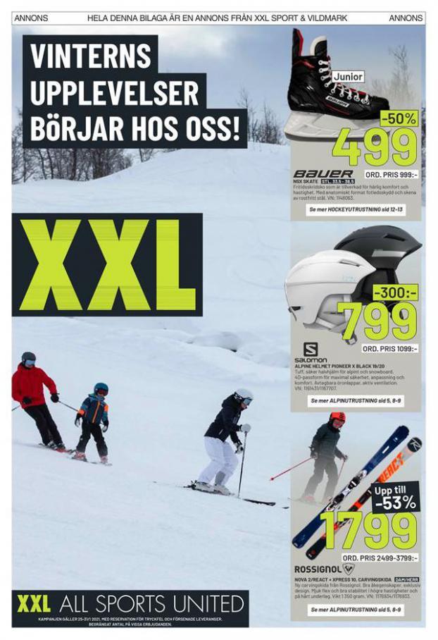 XXL Erbjudande Winterns Upplevelser Börjar Hos Oss! . XXL (2021-01-31-2021-01-31)