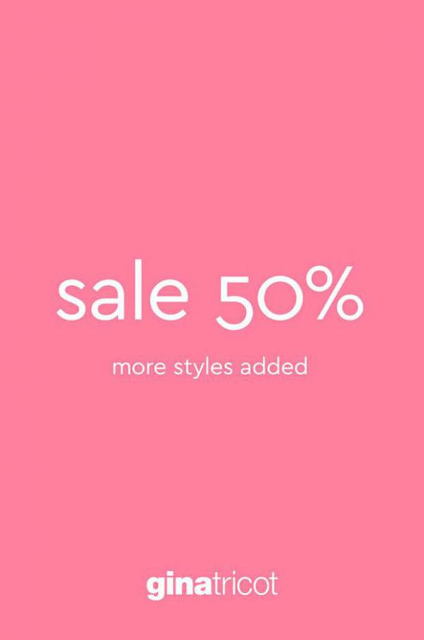 Sale Collection . Gina Tricot (2021-03-18-2021-03-18)