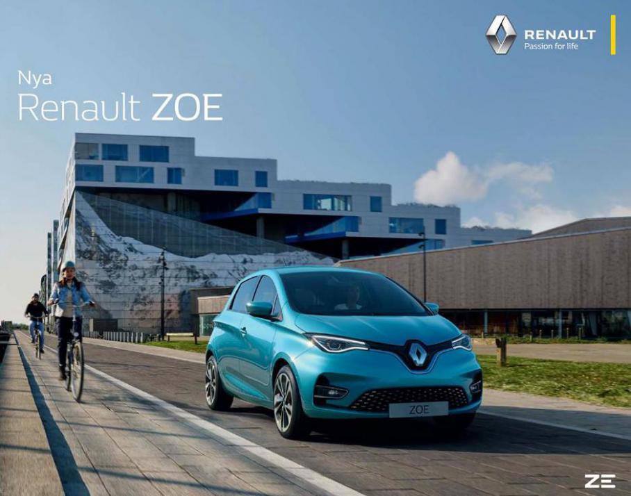 Nya Renault ZOE . Bilia (2021-12-31-2021-12-31)