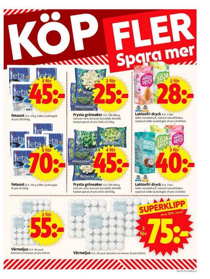 ICA Supermarket Erbjudanden . Page 13