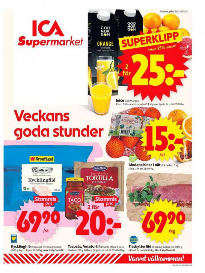 ICA Supermarket Erbjudanden . ICA Supermarket (2021-01-31-2021-01-31)