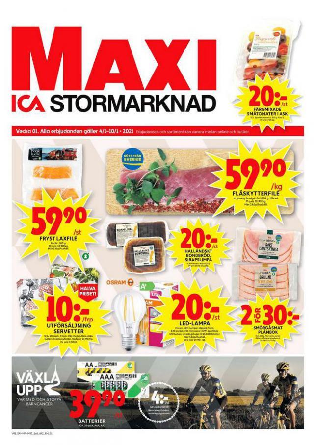 ICA Maxi Erbjudanden . ICA Maxi (2021-01-10-2021-01-10)