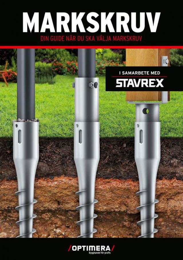 Stavrex produktkatalog . Optimera (2021-02-28-2021-02-28)