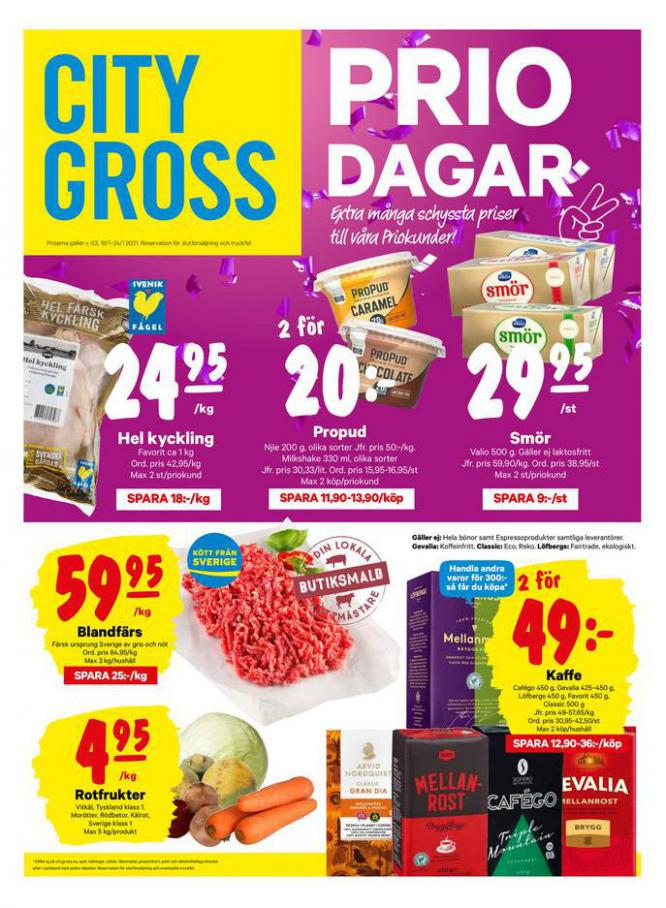 City Gross reklamblad . City Gross (2021-01-24-2021-01-24)