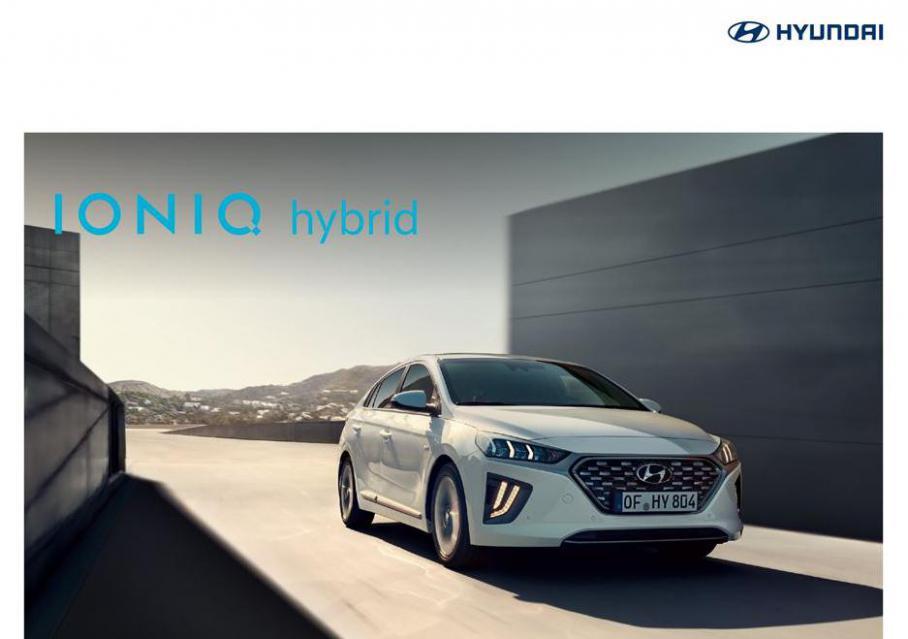 Hyundai Ioniq Hybrid . Hyundai (2021-12-31-2021-12-31)