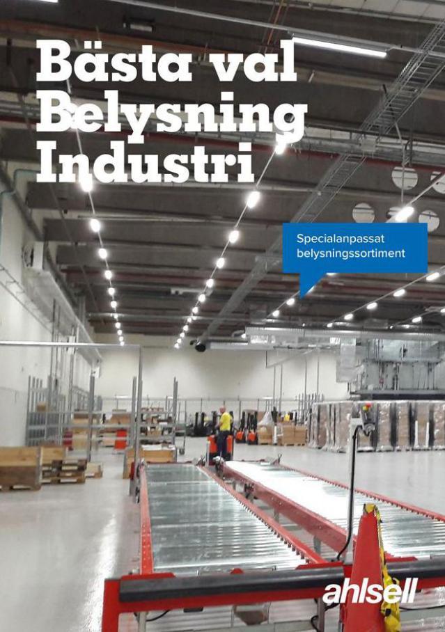 Bästa val Belysning Industri . Ahlsell (2021-03-31-2021-03-31)